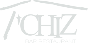 Logo T'Chiz blanc transparent