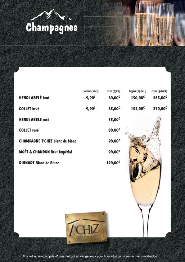Carte champagne tchiz
